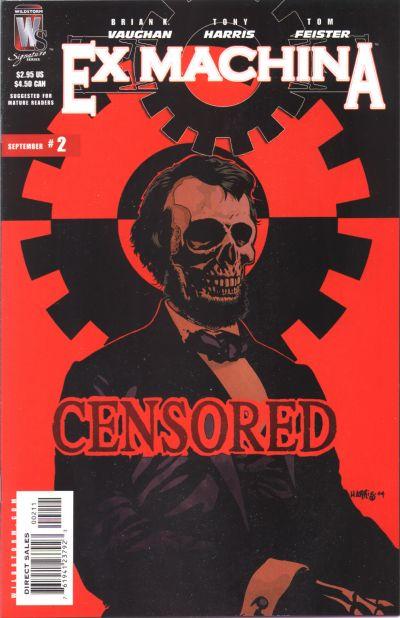 Cover for Ex Machina (DC, 2004 series) #2