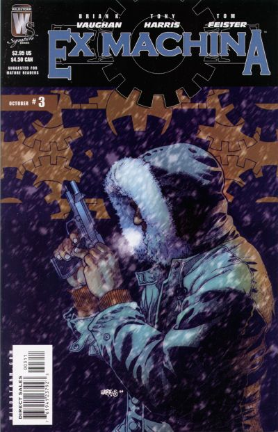 Cover for Ex Machina (DC, 2004 series) #3