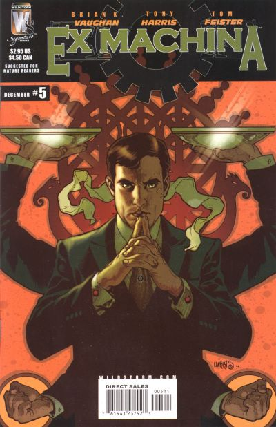 Cover for Ex Machina (DC, 2004 series) #5