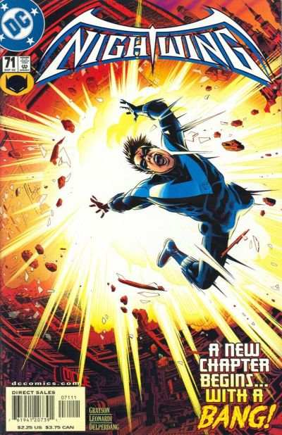 Cover for Nightwing (DC, 1996 series) #71