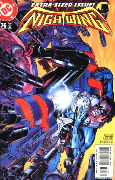Cover for Nightwing (DC, 1996 series) #75