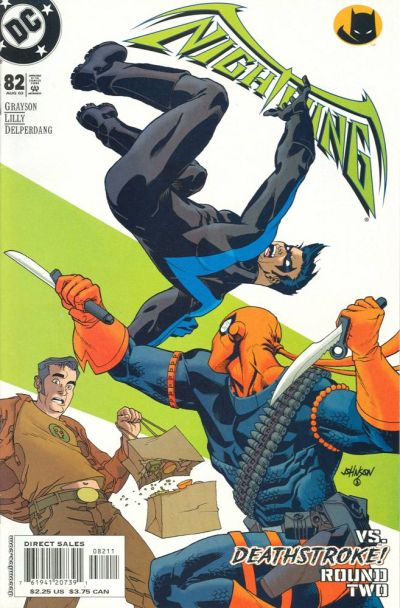 Cover for Nightwing (DC, 1996 series) #82