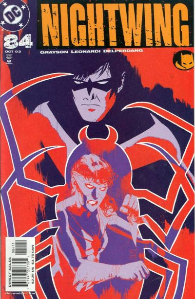 Cover for Nightwing (DC, 1996 series) #84