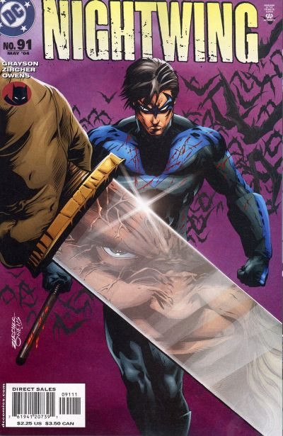 Cover for Nightwing (DC, 1996 series) #91