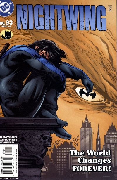 Cover for Nightwing (DC, 1996 series) #93