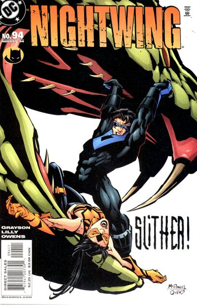 Cover for Nightwing (DC, 1996 series) #94