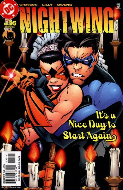 Cover for Nightwing (DC, 1996 series) #95