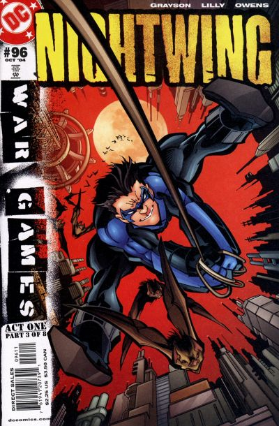 Cover for Nightwing (DC, 1996 series) #96