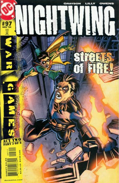Cover for Nightwing (DC, 1996 series) #97