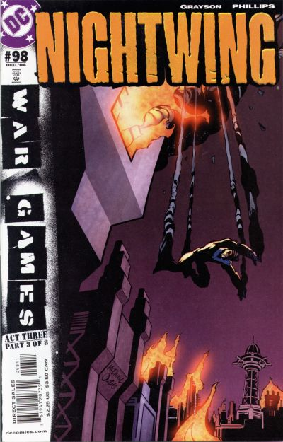 Cover for Nightwing (DC, 1996 series) #98