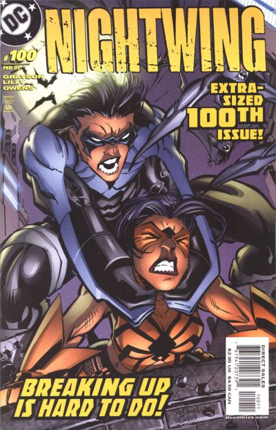 Cover for Nightwing (DC, 1996 series) #100