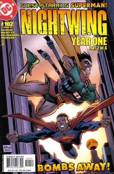 Cover for Nightwing (DC, 1996 series) #102