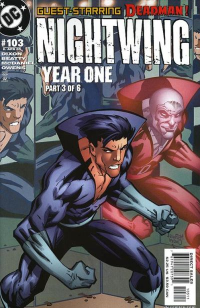 Cover for Nightwing (DC, 1996 series) #103