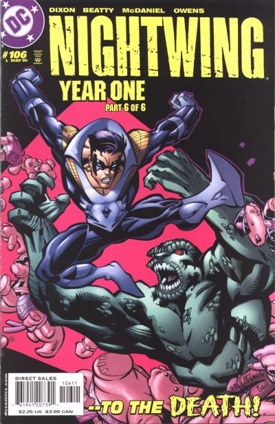 Cover for Nightwing (DC, 1996 series) #106