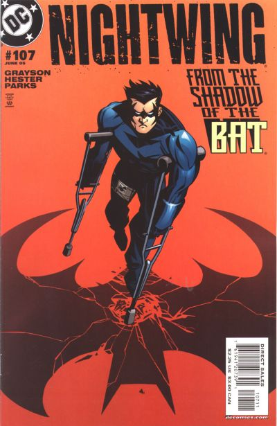 Cover for Nightwing (DC, 1996 series) #107