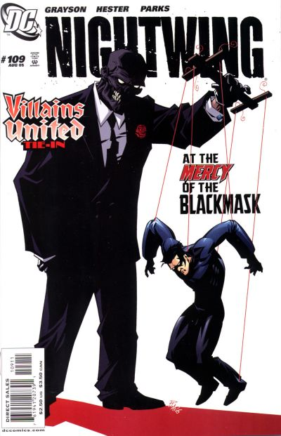 Cover for Nightwing (DC, 1996 series) #109