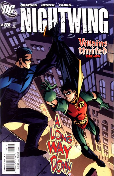 Cover for Nightwing (DC, 1996 series) #110