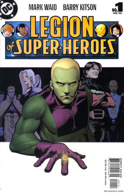 Cover for Legion of Super-Heroes (DC, 2005 series) #1