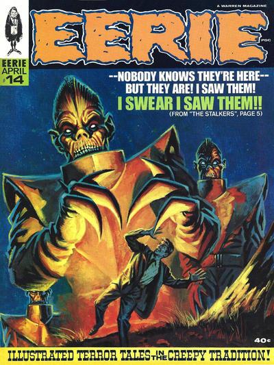 Cover for Eerie (Warren, 1966 series) #14