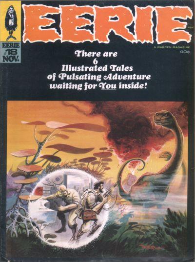 Cover for Eerie (Warren, 1966 series) #18