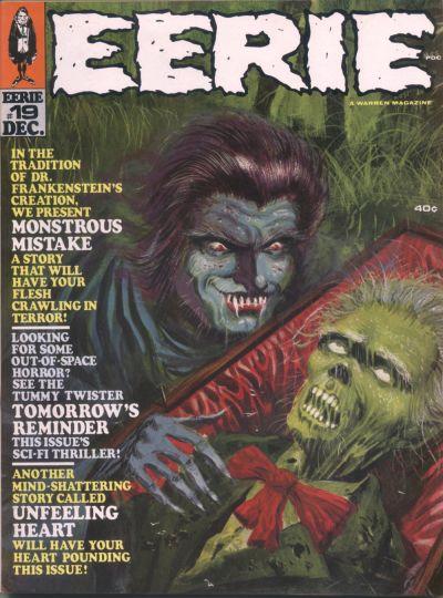Cover for Eerie (Warren, 1966 series) #19
