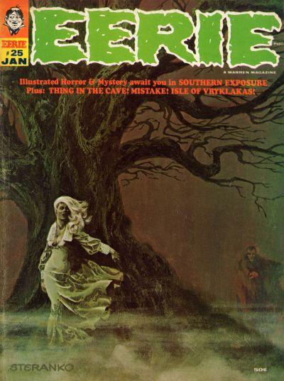 Cover for Eerie (Warren, 1966 series) #25