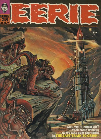 Cover for Eerie (Warren, 1966 series) #28