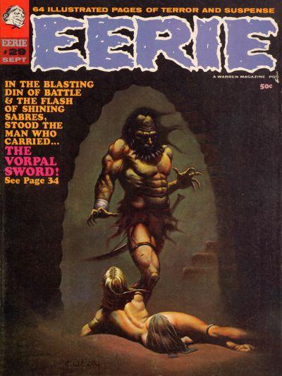 Cover for Eerie (Warren, 1966 series) #29