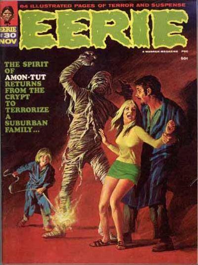 Cover for Eerie (Warren, 1966 series) #30