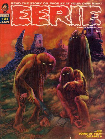 Cover for Eerie (Warren, 1966 series) #31