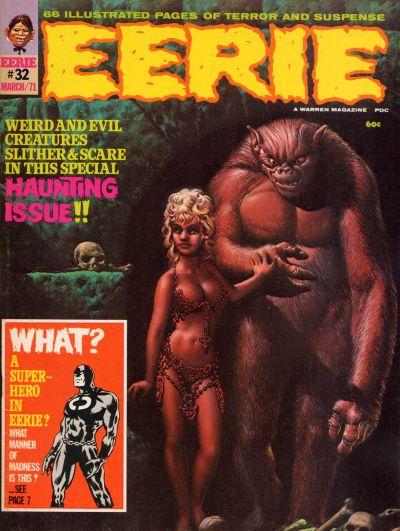 Cover for Eerie (Warren, 1966 series) #32