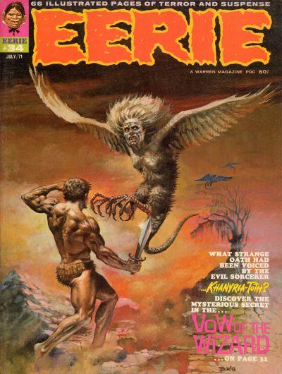 Cover for Eerie (Warren, 1966 series) #34