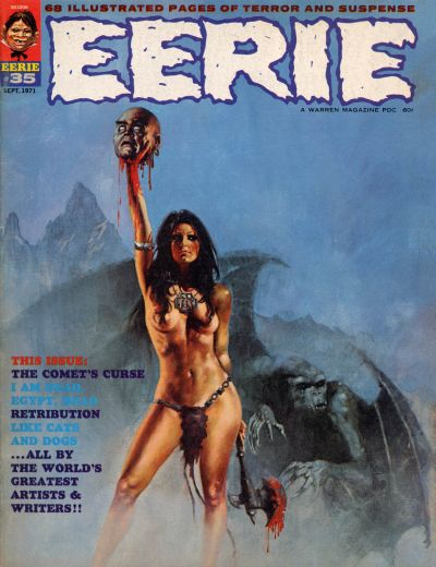 Cover for Eerie (Warren, 1966 series) #35