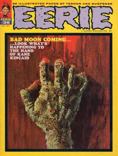 Cover for Eerie (Warren, 1966 series) #36