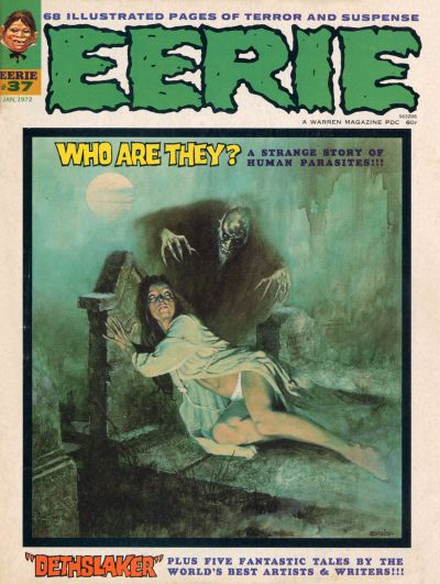 Cover for Eerie (Warren, 1966 series) #37