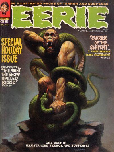 Cover for Eerie (Warren, 1966 series) #38