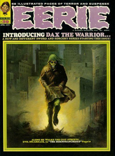 Cover for Eerie (Warren, 1966 series) #39
