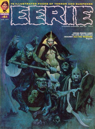Cover for Eerie (Warren, 1966 series) #41