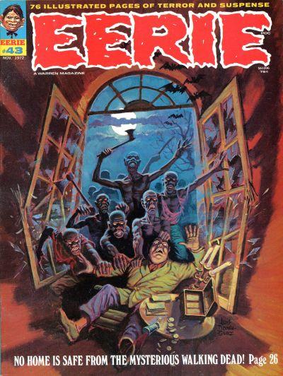 Cover for Eerie (Warren, 1966 series) #43