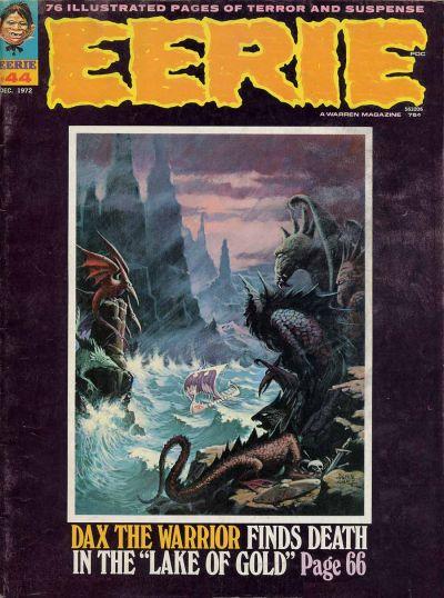 Cover for Eerie (Warren, 1966 series) #44