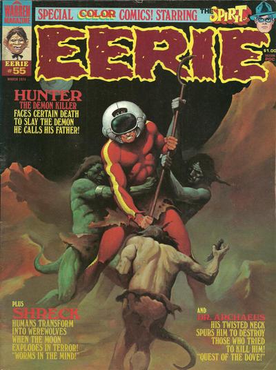 Cover for Eerie (Warren, 1966 series) #55