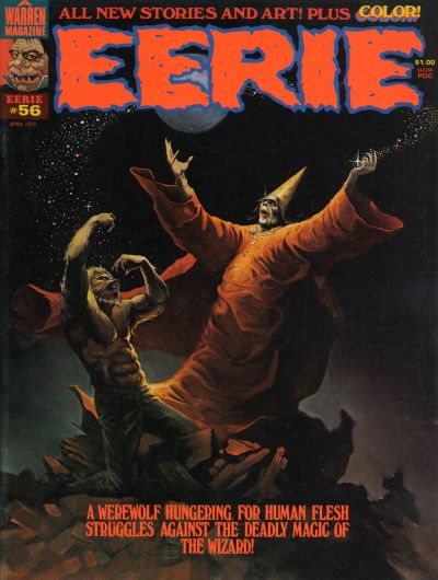 Cover for Eerie (Warren, 1966 series) #56