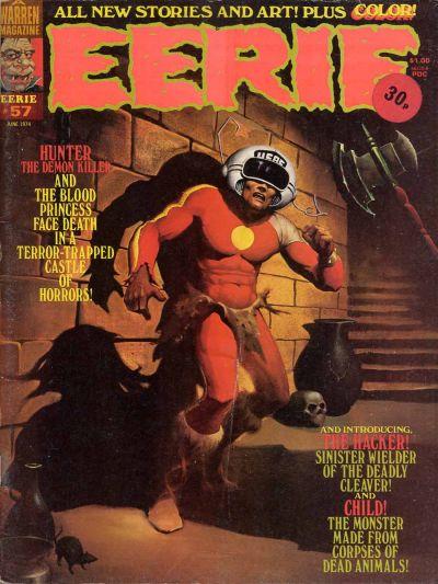 Cover for Eerie (Warren, 1966 series) #57