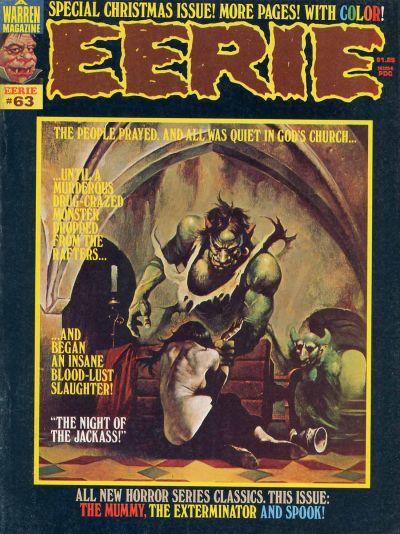 Cover for Eerie (Warren, 1966 series) #63