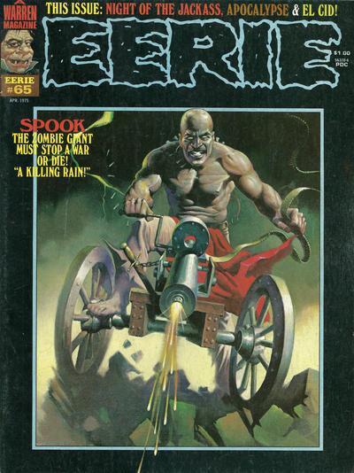 Cover for Eerie (Warren, 1966 series) #65