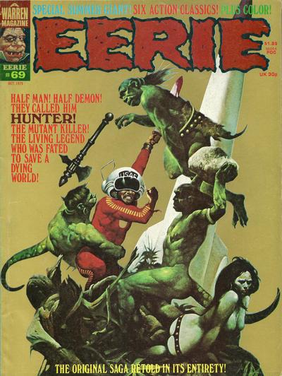 Cover for Eerie (Warren, 1966 series) #69