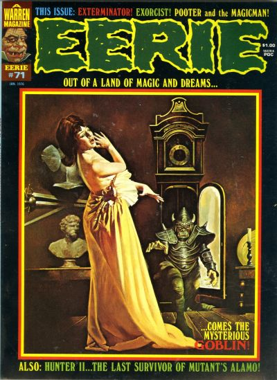 Cover for Eerie (Warren, 1966 series) #71