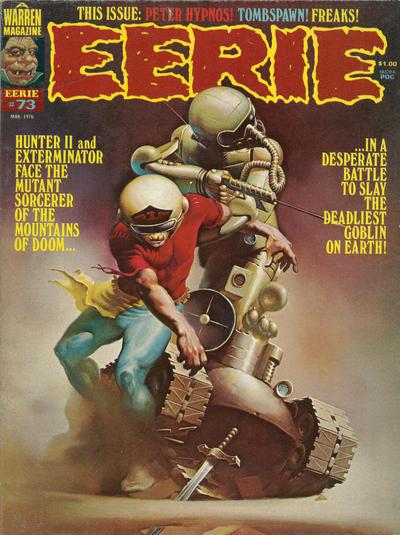 Cover for Eerie (Warren, 1966 series) #73