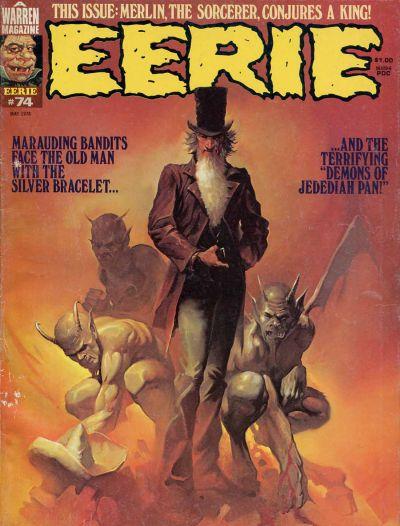 Cover for Eerie (Warren, 1966 series) #74