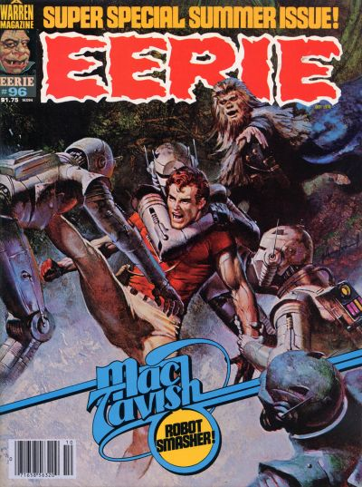 Cover for Eerie (Warren, 1966 series) #96